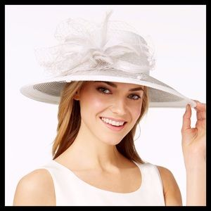 August Hats Freesia Wide Brim Hat
